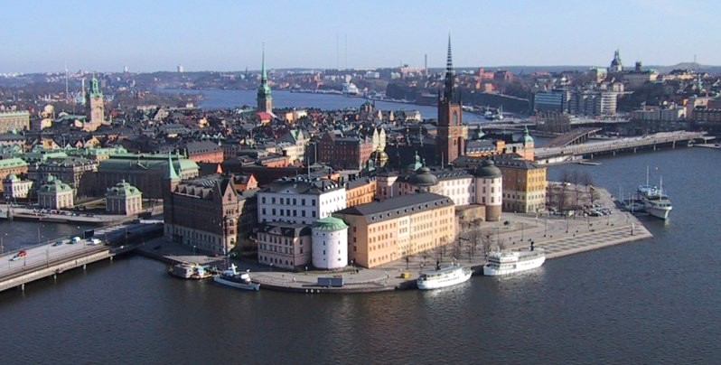 Stockholm is the capital and largest city in Sweden. Riddarholmen and Old Town in Stockholm