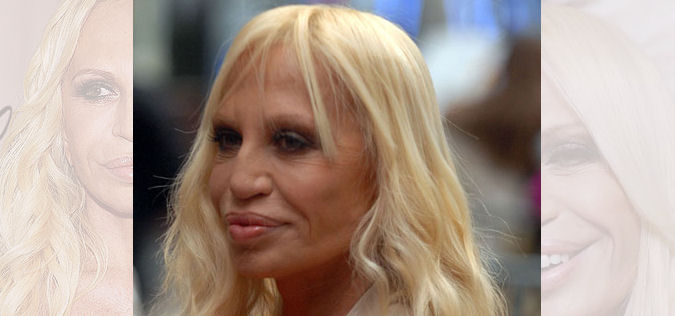 donatella versace plastic surgery. Rich woman | Donatella Versace