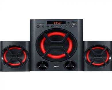 Description: G LK72 40W Bluetooth Music System - Black