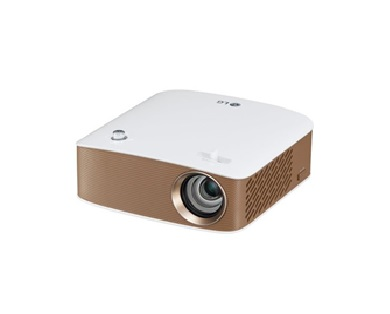 Description: G MiniBeam PH150G HD Projector with Speaker - Brown/White